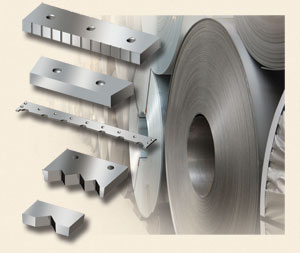 Machine knives and equipment for the metal industry